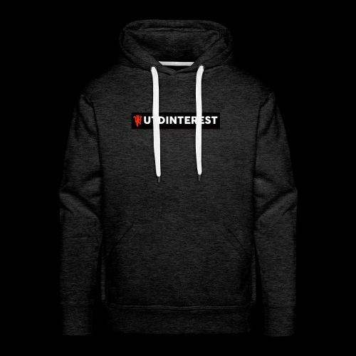 Utd Interest Logo - Men's Premium Hoodie