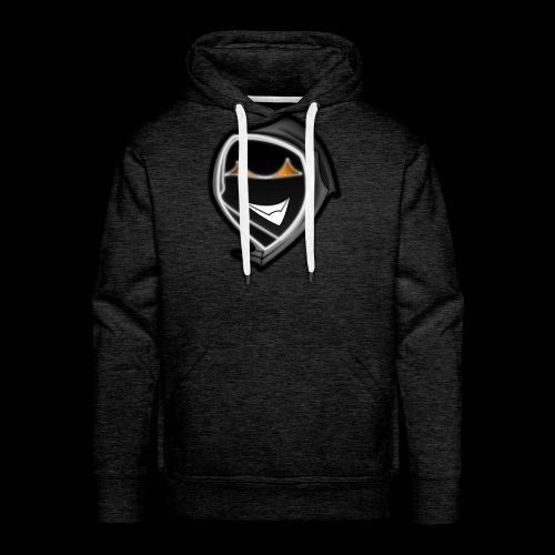 ghost svg - Männer Premium Hoodie