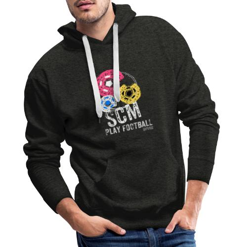 SCM PLAY COLLECTION - Sweat-shirt à capuche Premium pour hommes
