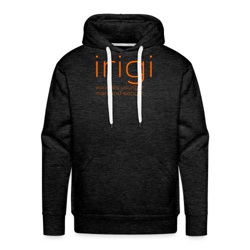 irigi-logo-007 - Men's Premium Hoodie