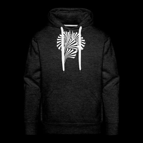 eskal 2 BLANC - Sweat-shirt à capuche Premium pour hommes