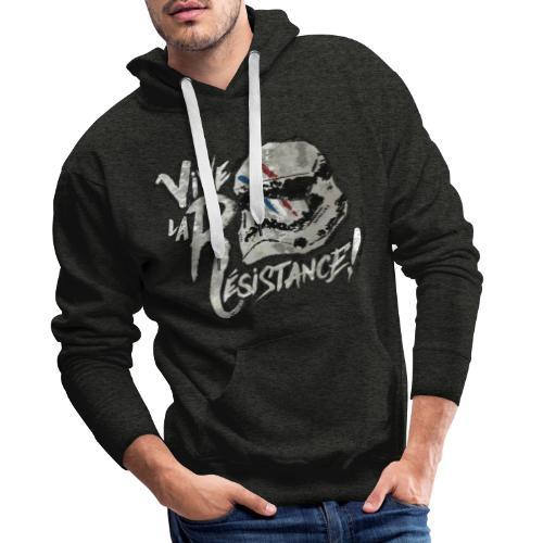 Vive La Résistance - Sweat-shirt à capuche Premium pour hommes