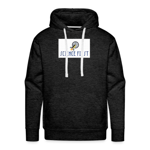 Science First - Men's Premium Hoodie