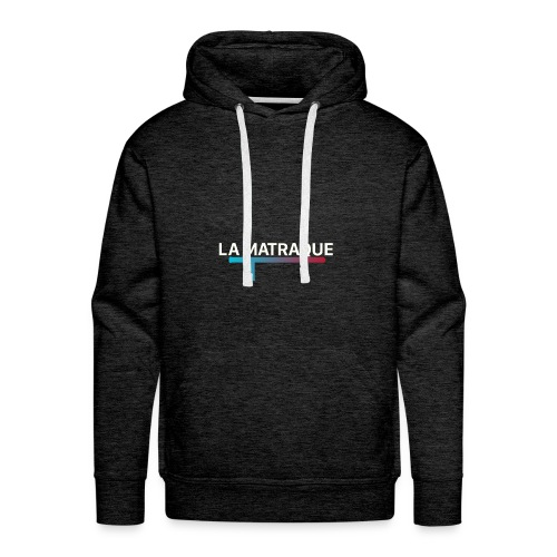 LA MATRAQUE. - Sweat-shirt à capuche Premium pour hommes