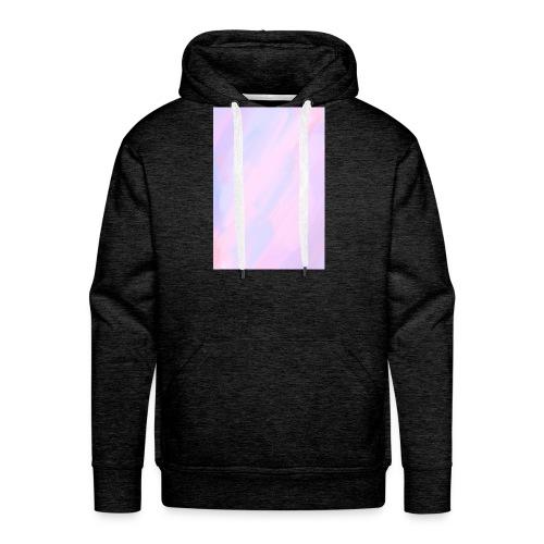 Regenbogen pastell - Männer Premium Hoodie