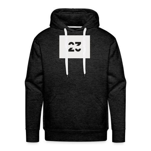 Numéro 23 - Sweat-shirt à capuche Premium pour hommes