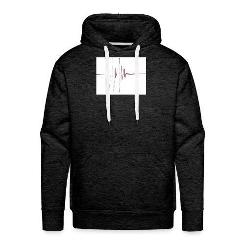 linie - Männer Premium Hoodie