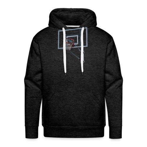 Basketball Korb - Männer Premium Hoodie