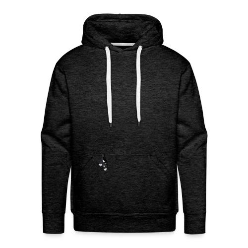 renard noir - Sweat-shirt à capuche Premium pour hommes