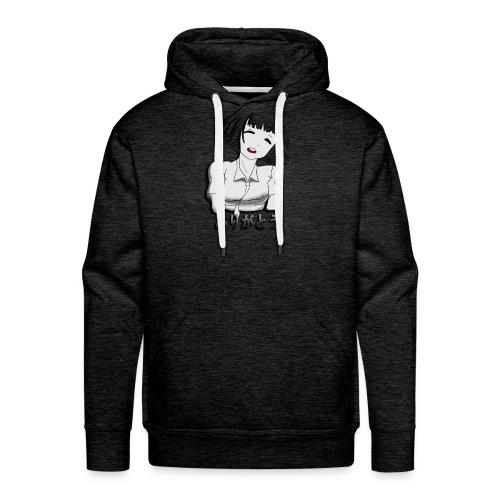 Animegirl - Sudadera con capucha premium para hombre