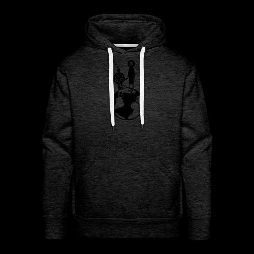 HODL T shirt Bitcoin to the moon - Männer Premium Hoodie