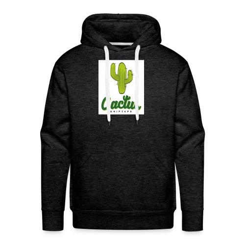 Cactus friptape - Sudadera con capucha premium para hombre