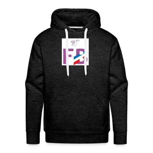 Logo FB Profil - Sweat-shirt à capuche Premium pour hommes