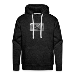 sports race car design - Men's Premium Hoodie