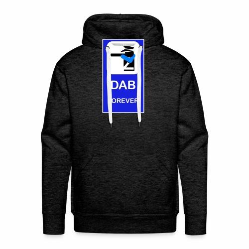 DAB POLICE BLUE - Felpa con cappuccio premium da uomo