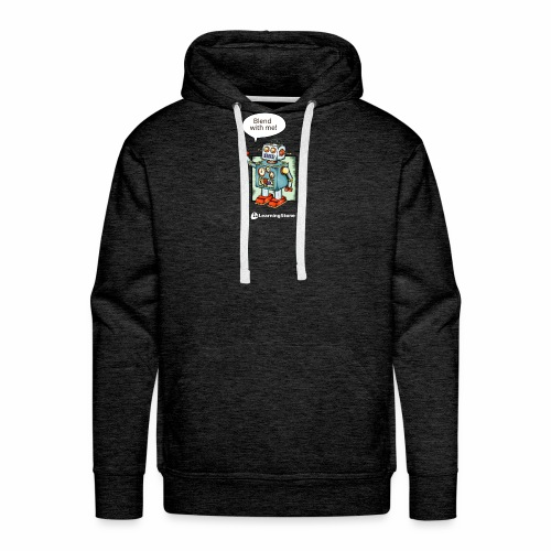 Blend with me - Men's Premium Hoodie