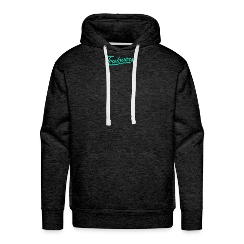 logo we are tirelovers text - Männer Premium Hoodie