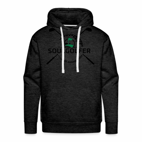 I compete against myself - soulgolfer - Männer Premium Hoodie