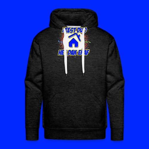 Feest Duo Het Dak Eraf - Mannen Premium hoodie