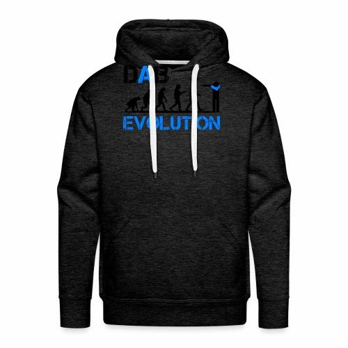 DAB EVOLUTION / Homo Dabens - Felpa con cappuccio premium da uomo