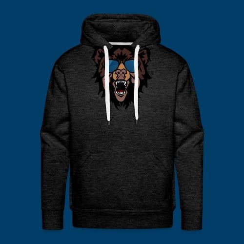 The Grizzly Beast - Men's Premium Hoodie