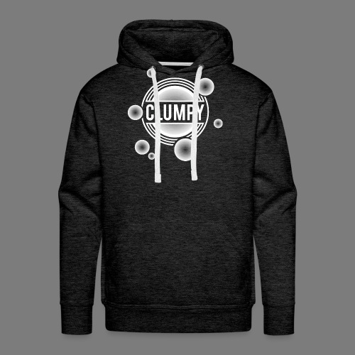 Clumpy halos white - Men's Premium Hoodie