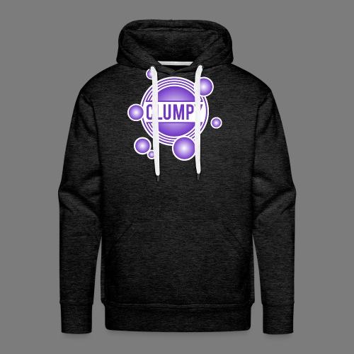 Clumpy halos violet - Men's Premium Hoodie