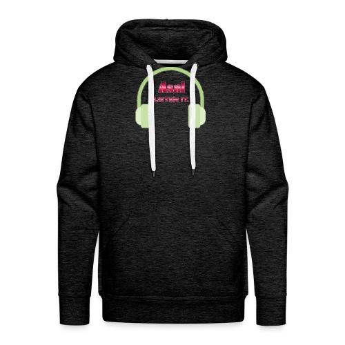 Asal Listen it. - Design - Männer Premium Hoodie