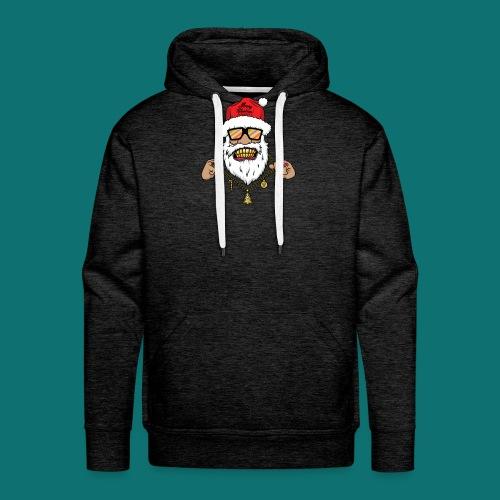 Dope Santa - Felpa con cappuccio premium da uomo
