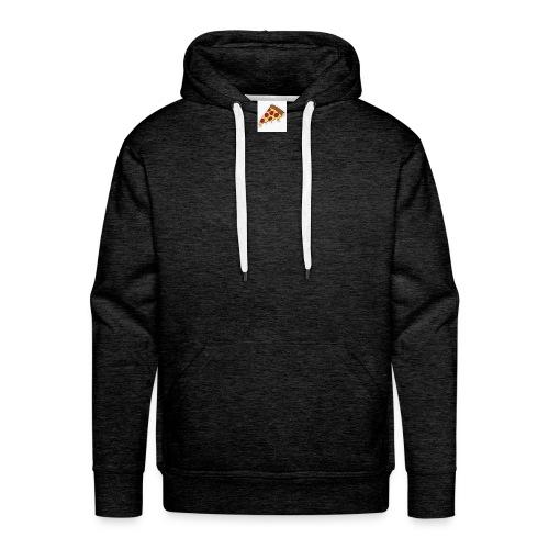 cartoon pizza - Sweat-shirt à capuche Premium pour hommes