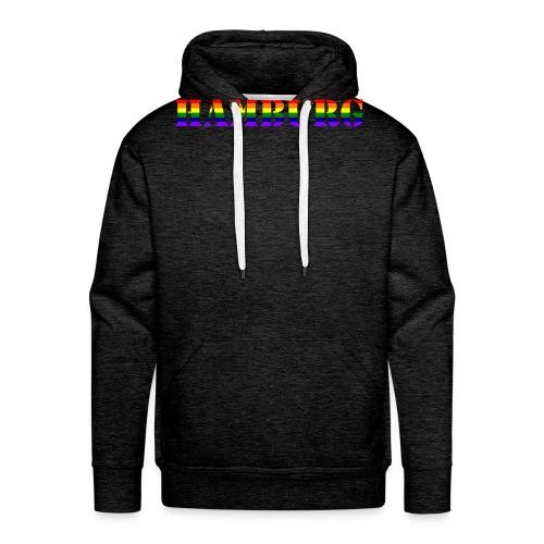 Hamburg Rainbow #1 - Männer Premium Hoodie