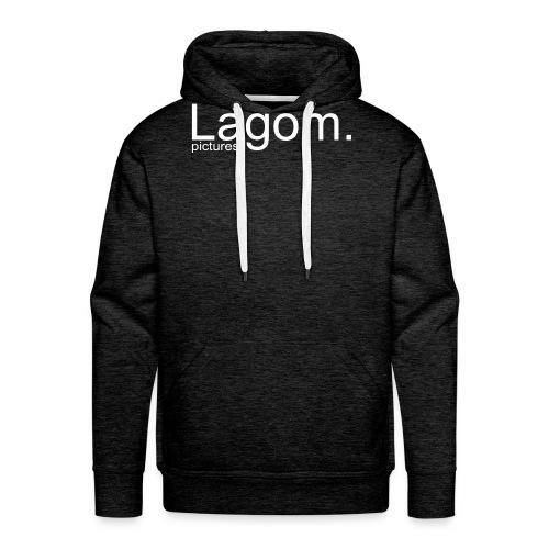 Lagom Pictures Logo Light - Men's Premium Hoodie