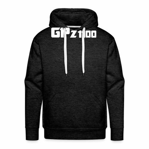 GPz 1100 white - Männer Premium Hoodie