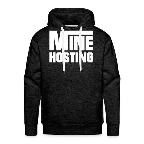 Mine Hosting Corporate Kampagne - Männer Premium Hoodie