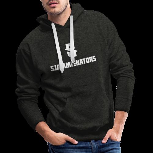 Sjammienators WIT - Mannen Premium hoodie
