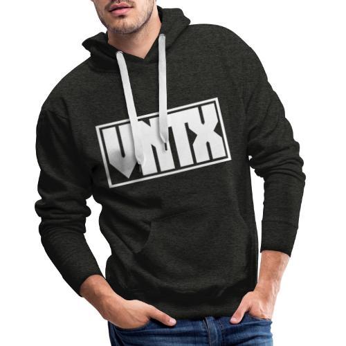 VNTX Logo Weiß - Männer Premium Hoodie