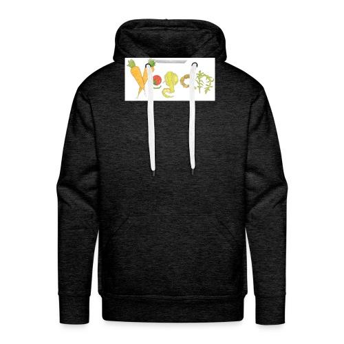 vegan - Sudadera con capucha premium para hombre