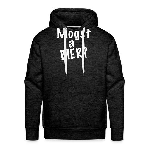 Mogst a Bier Oktobefest, Canstatter Wasen - Männer Premium Hoodie