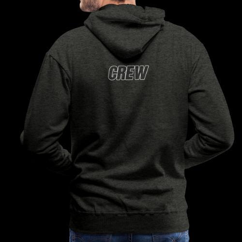 crew2019 - Sweat-shirt à capuche Premium pour hommes