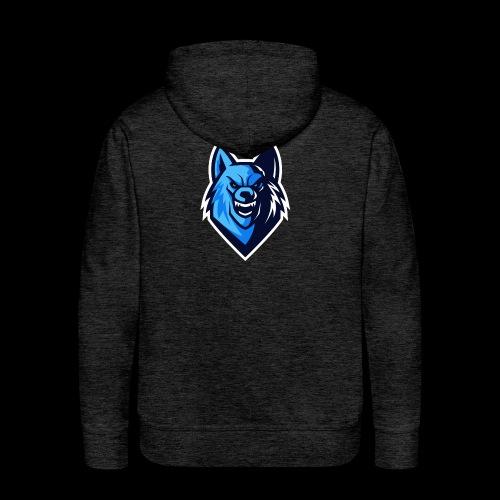 Tryzen Wulf Logo - Männer Premium Hoodie