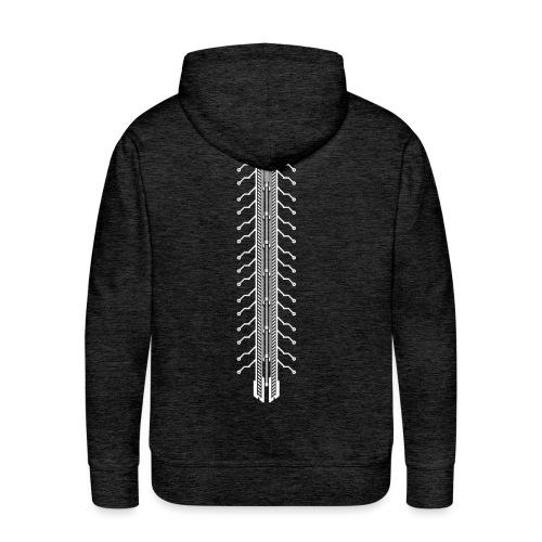 Tech Spine - Männer Premium Hoodie