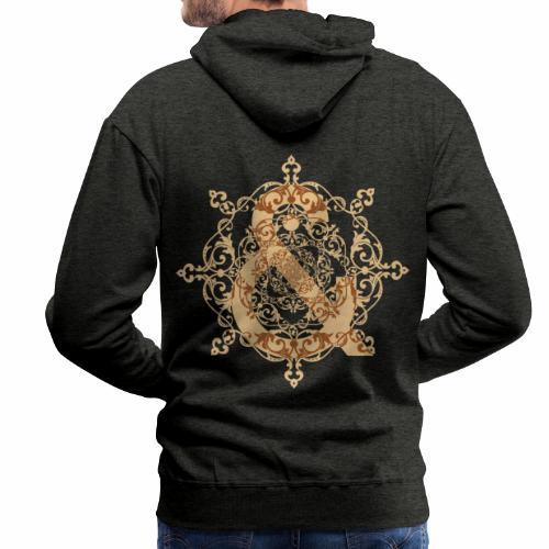 Escudo natural & ... - Sudadera con capucha premium para hombre