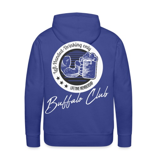 Buffalo Club Strong Arm - Men's Premium Hoodie