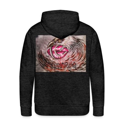 Tam'Art aigle 🦅 - Sweat-shirt à capuche Premium pour hommes