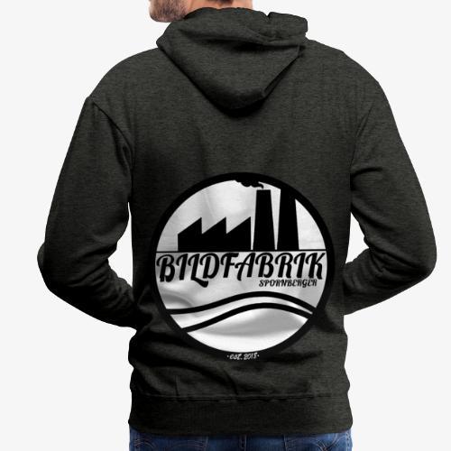 Bildfabrik Logo - Männer Premium Hoodie