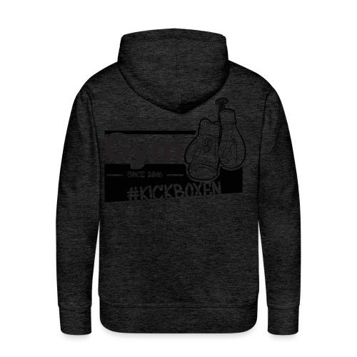 Gym in Druckfarbe schwarz - Männer Premium Hoodie