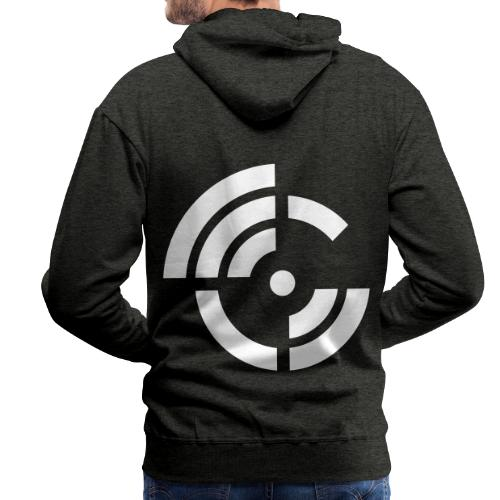 electroradio.fm logo - Men's Premium Hoodie