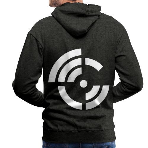 electroradio.fm logo - Männer Premium Hoodie