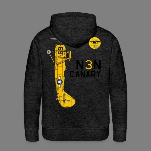 TDH19-PROFIL-N3N CANARY - Sweat-shirt à capuche Premium pour hommes