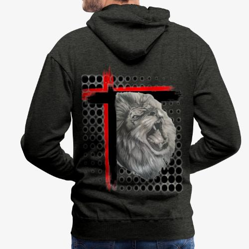 Lionking1 - Männer Premium Hoodie